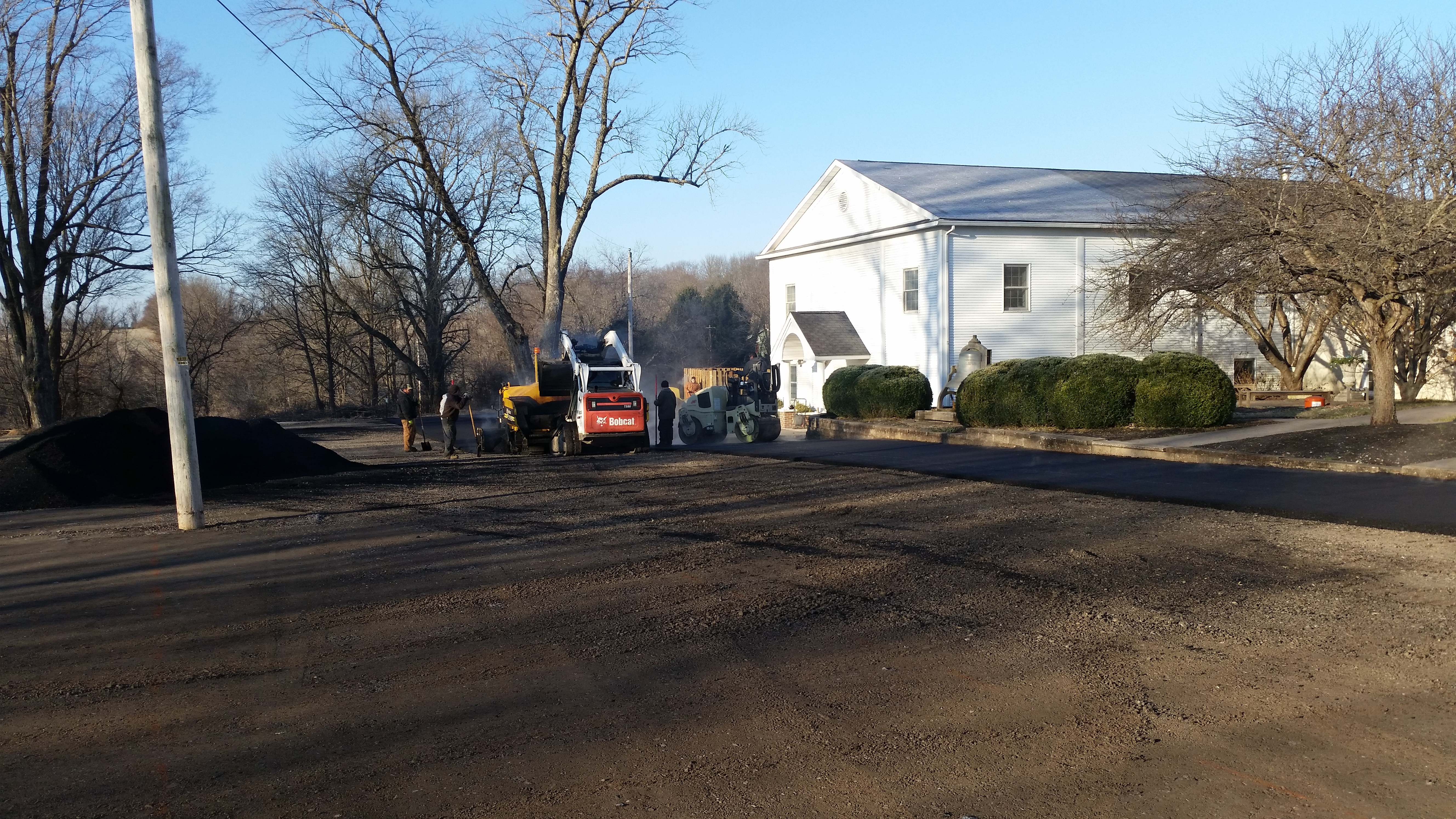 December 11_2018_Paving_the_parking_lot_.4